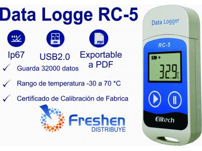 Registro de Temperatura Data Logger RC-5